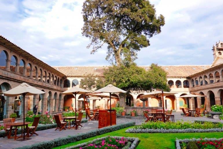 Belmont Monasterio Courtyard - Cusco
