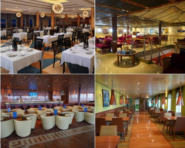Restaurants and Bars onboard Grand Classica