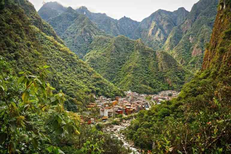 Aguas Calientes, Peru (Macho Picchu Pablo)