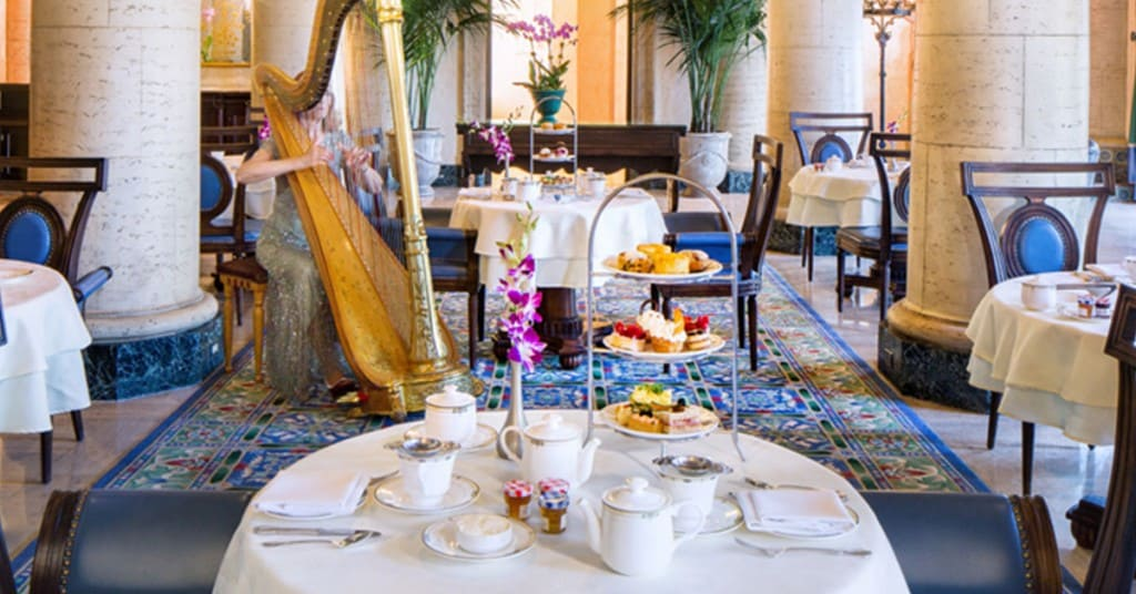 Afternoon Tea - Photo The Biltmore Hotel & Resort