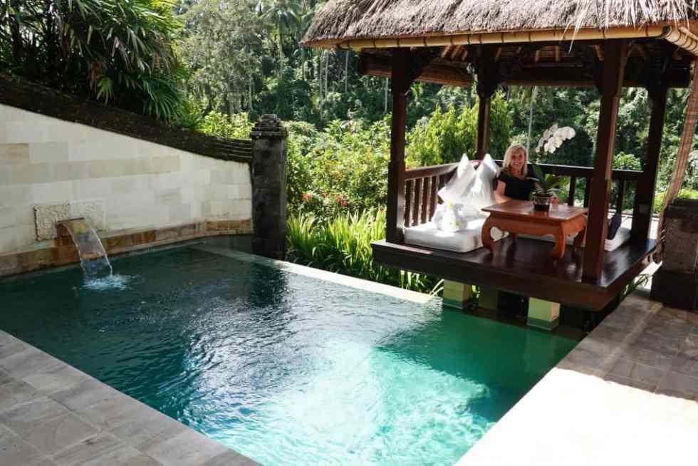 Deluxe Suite Pool Area - Viceroy Bali Ubud