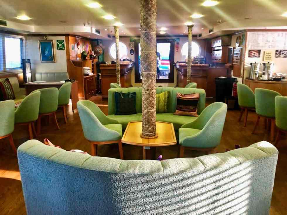 Lounge Area onboard M/S Panorama II