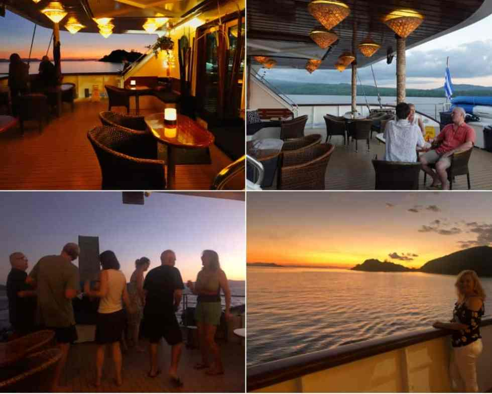 Watching the Sunsets, and Dancing the Night Away onboard MS Panorama II