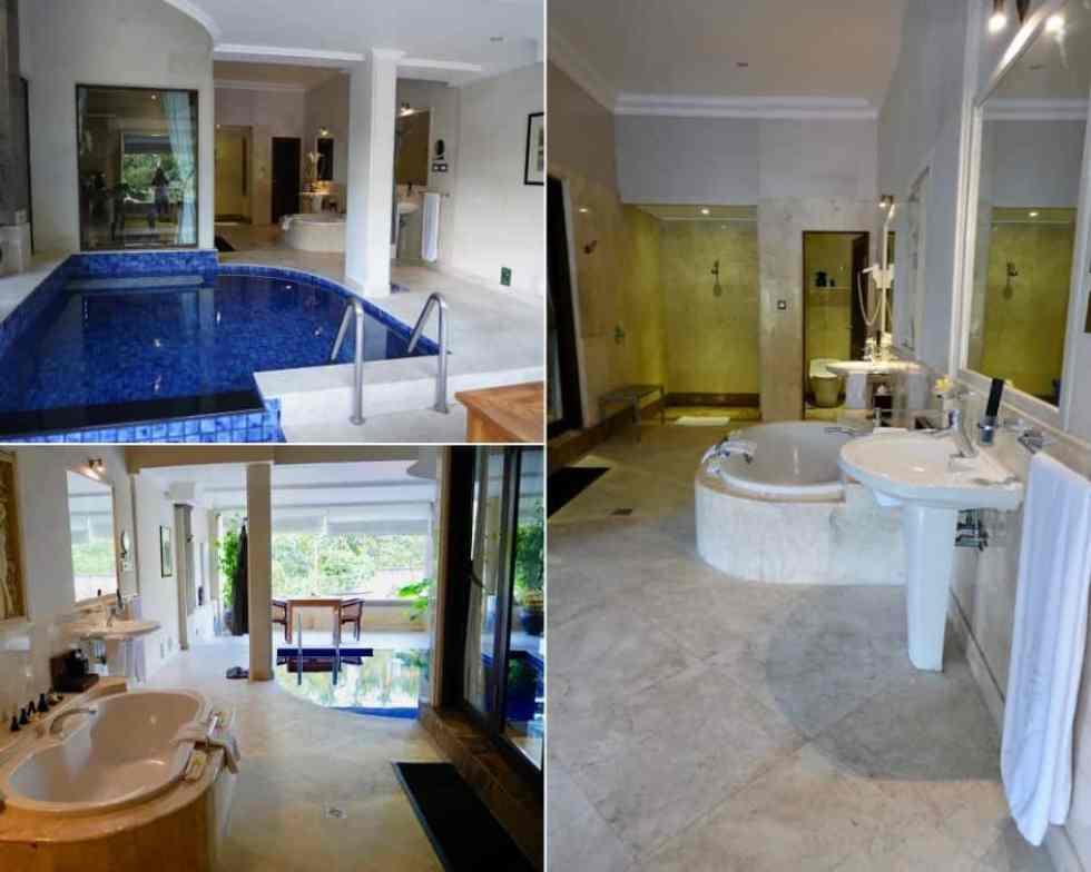 Pool Suite Viceroy Bali Ubud - Outdoor Bathroom and Pool Area