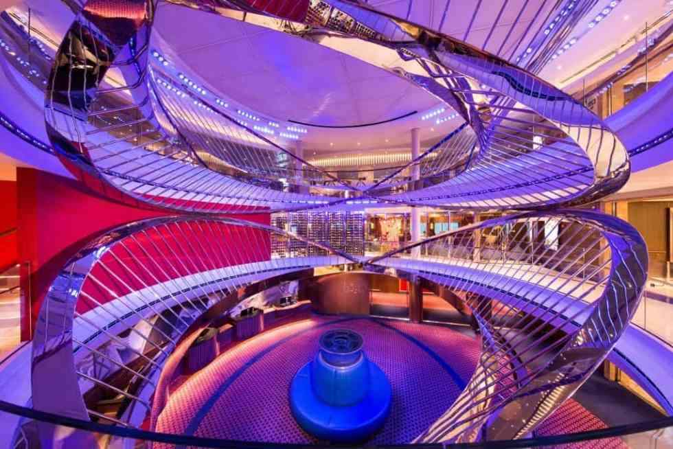 Photo Credit: Holland American MS Koningsdam Atrium