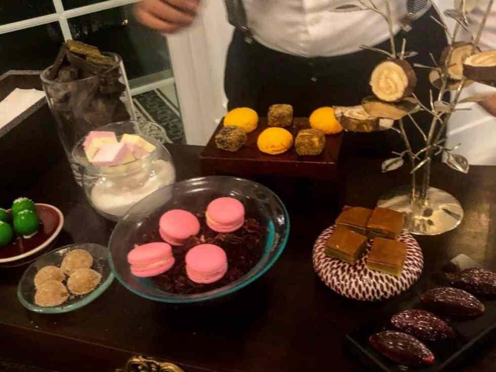 Plenty of Dessert Choices at Aperitif Restaurant