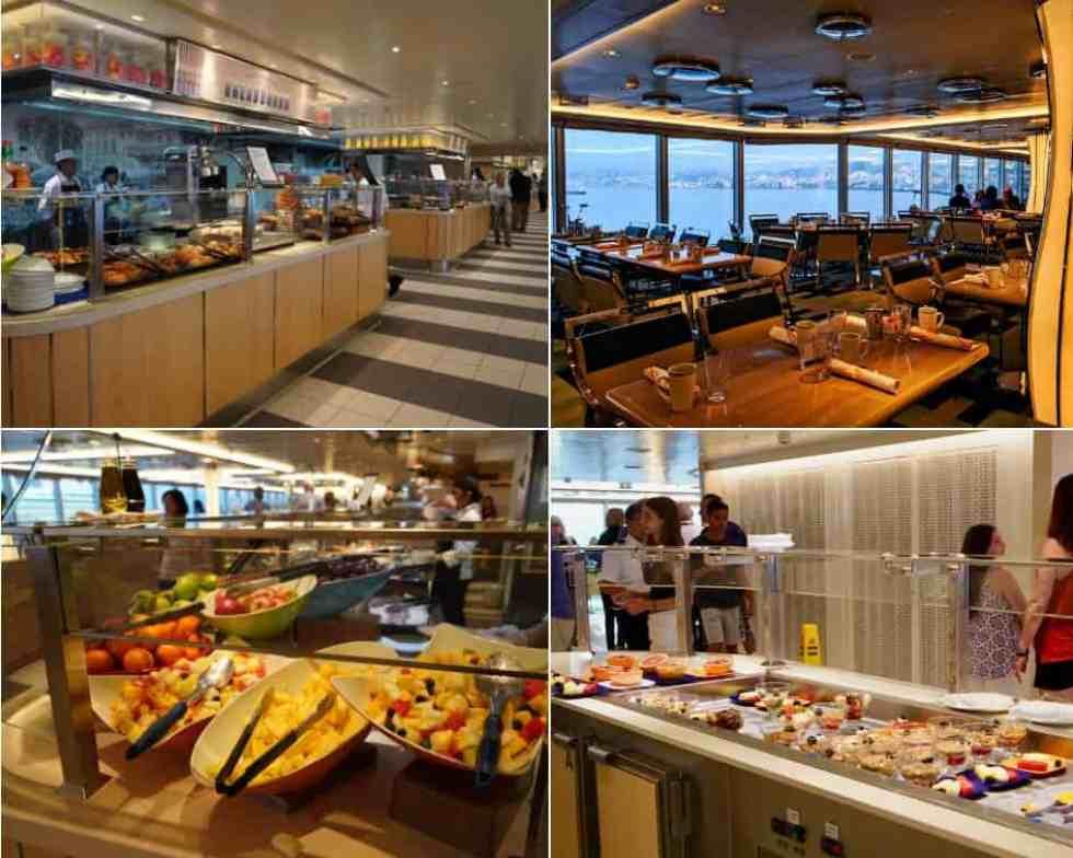 Lido Market - Holland America MS Koningsdam