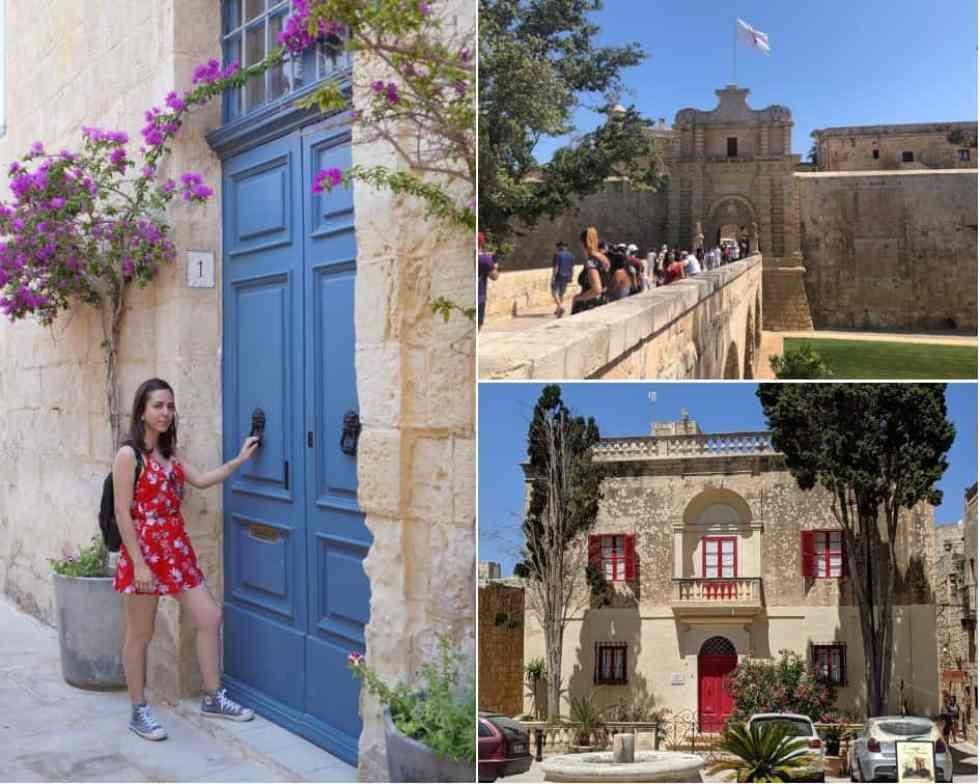 Inside the Ancient City of Mdina, Malta