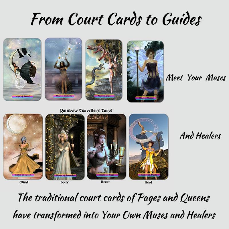 Rainbow Travellers Tarot Deck - Muses and Healers