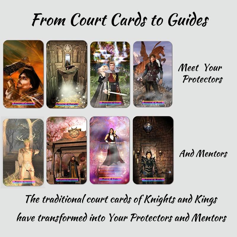 Rainbow Travellers Tarot Deck - Protectors and Mentors