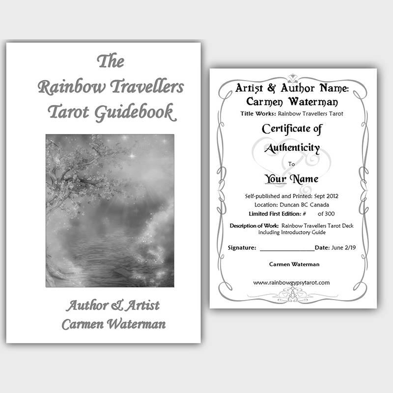 Rainbow Travellers Tarot Deck - Guidebook and Certificate