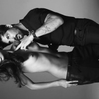 Sara Sampaio and Tony Ward by Philip Gay for Numéro Homme Berlin, Summer 2015