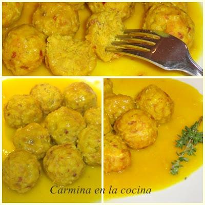 Albóndigas en salsa de cebolla