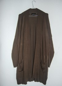 Khaki Cardigan / £8.00