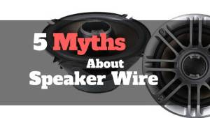 5-myths about car speaker wire