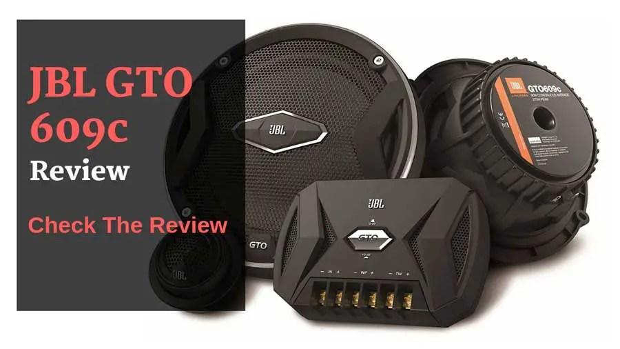 JBL-GTO609 review