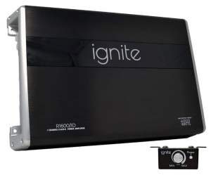 Ignite Audio Mono Block Class D Car Amplifier 4000 Watts Peak Power