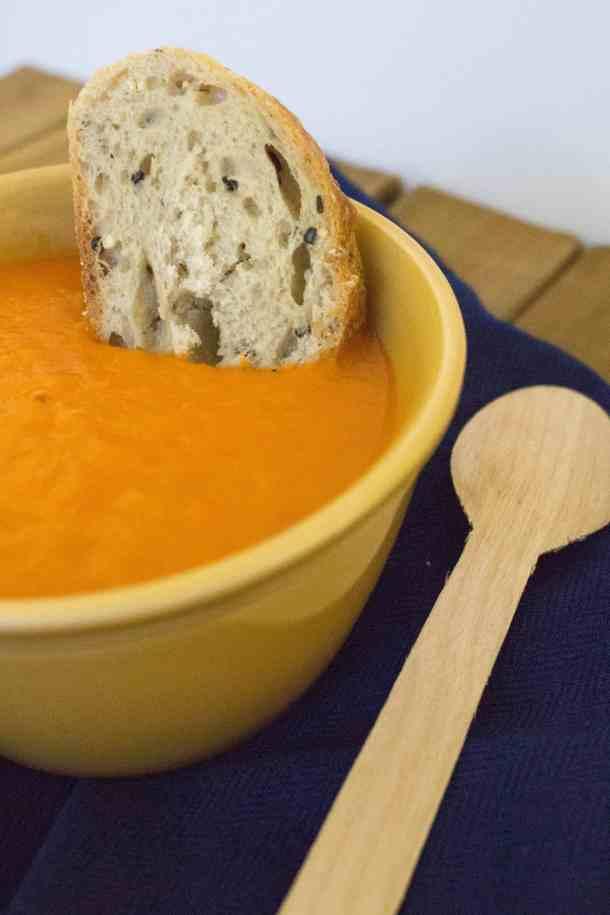 5 Ingredient Tomato Potato Soup
