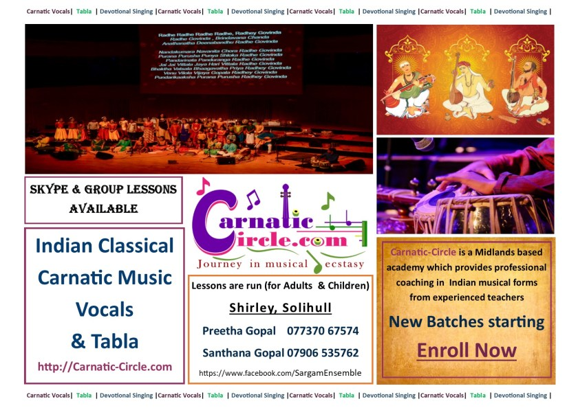 Music Lessons poster with logo