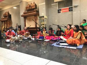 Balaji Temple Performance