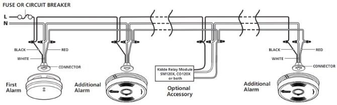 hard wired smoke alarm wiring diagram free download  power
