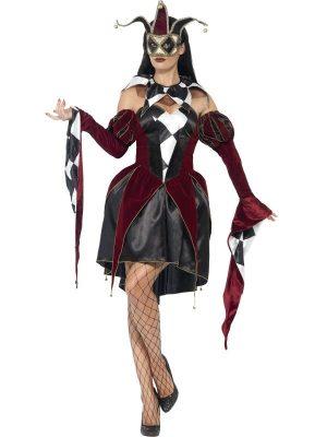 Costum Arlechin Venetian