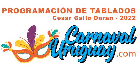 Programación 2022 Tablado Cesar Gallo Duran