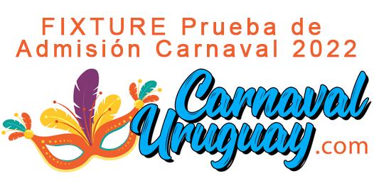 FIXTURE Prueba de Admisión Carnaval 2022