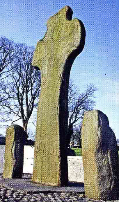 photo of donagh cross and guardstones