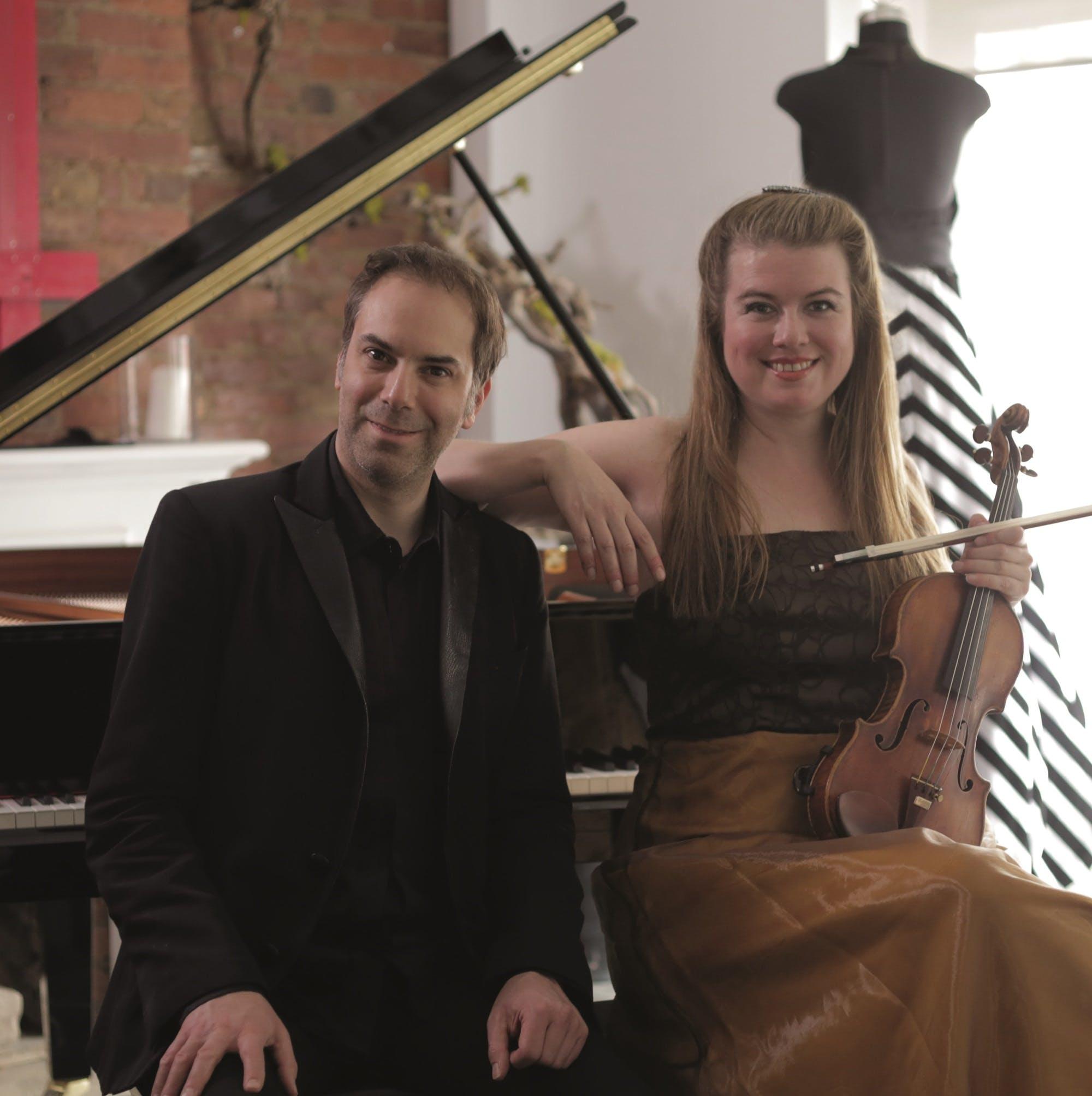 Lara St. John, Violin; Matt Herskowitz, Piano at Brooklyn Central Public Library