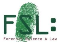 Forensic Science and Law Logo