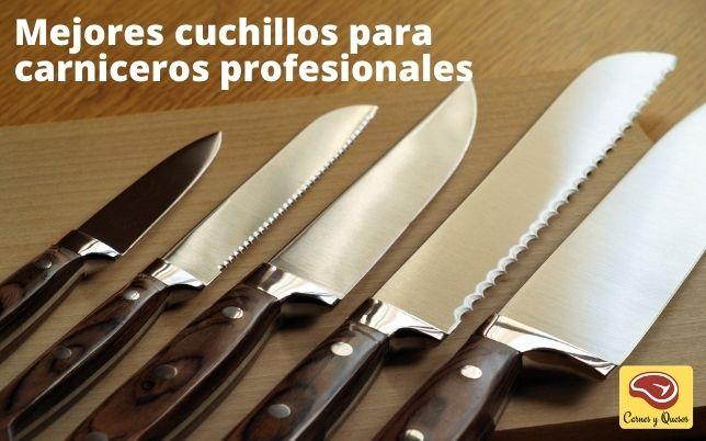 Mejores cuchillos carnicería