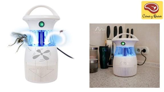 lampara anti mosquitos eléctrico