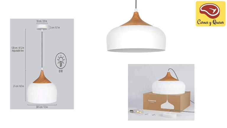Lámpara clásica de carnicerías