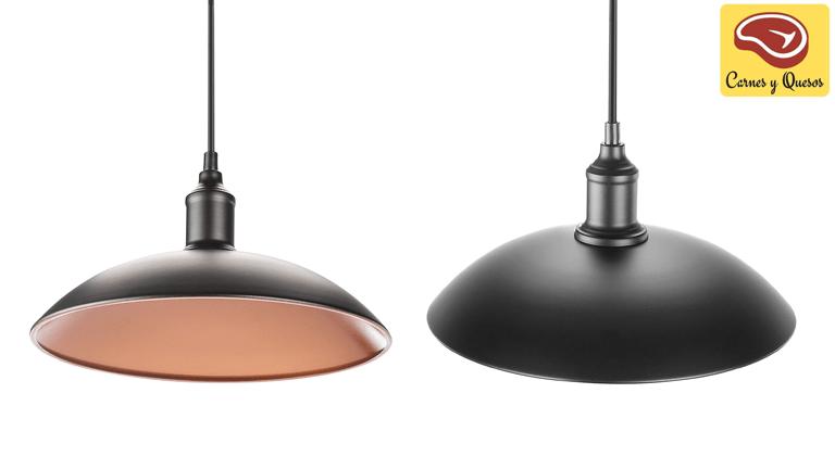 lámparas colgantes para carnicerías y charcuterías.