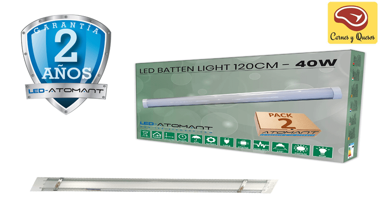 Iluminación LED para carnicerías y charcuterías