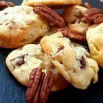 Recette des cookies aux noix de pécan et chocolat blanc