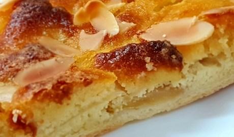 Recette de la tarte amandine aux pommes