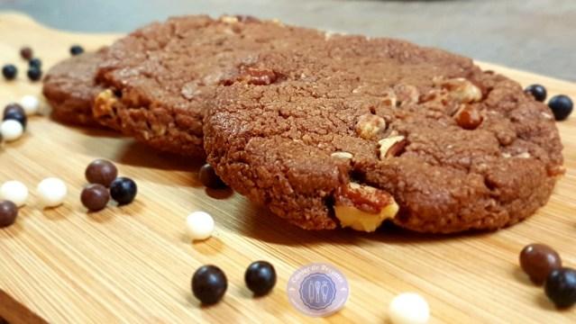 Cookies au Nutella moelleux et tendres