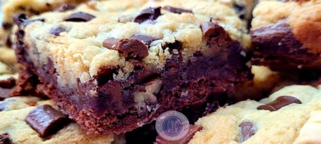 Brookie : le gâteau mi-cookie, mi-brownie