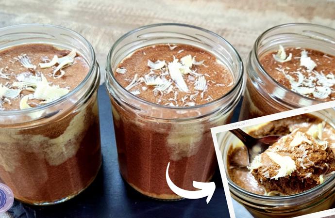 recette mousse aux trois chocolats