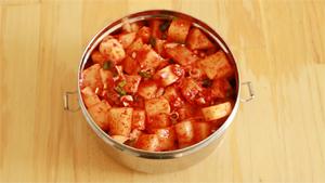 kimchi de radis
