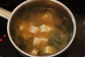 recette: soupe miso coréenne