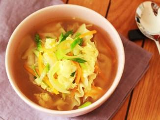 soupe de mandu