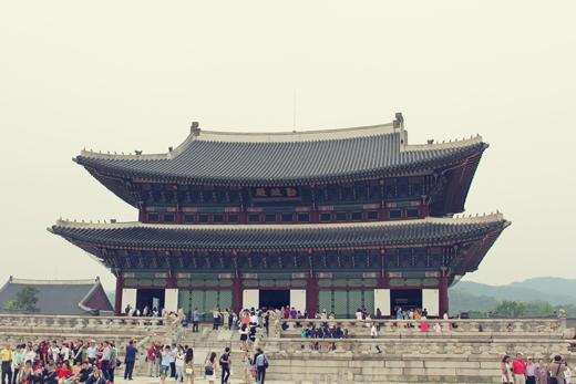 Voyage en Corée: Palais de Gyeongbokgung