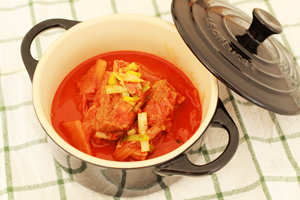kimchi deung galbijjim