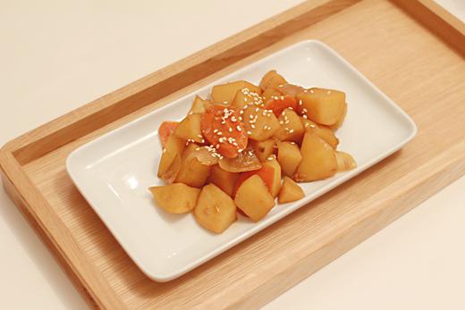 Gamja jorim (mijoté de pomme de terre)