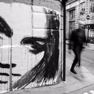 Canicule d'Août, Graffiti à Paris, Tom Plevnik