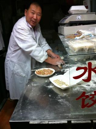 jiaozi ..dumplings , live!