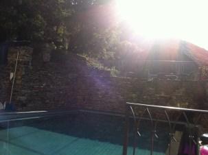 l'eau de la piscine, slurp